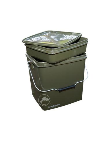 Trakker Square Container Olive 13ltr