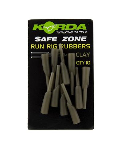 KORDA Run Rig Rubbers Weed (10 unidades)