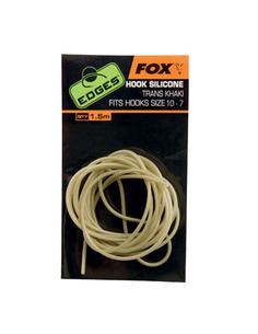 Fox Edges Hook Silicone Trans Khaki Size 10 - 7
