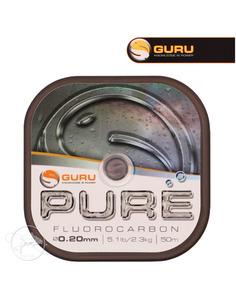 Guru Pure Fluorocarbon 0.18mm 4,6lb/2,1kg 50m