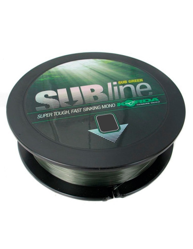 KORDA Subline Green 20Lb 0.43Mm 1000 Metros