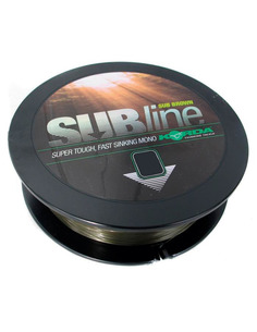 KORDA Subline Brown 20Lb 0.43Mm 1000 Metros