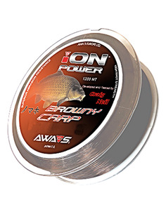 AWA-SHIMA ION Power Browny Carp 0,37mm 24,30kg 1200 m