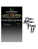 GARDNER Flexi Ring Swivels (10 unidades)