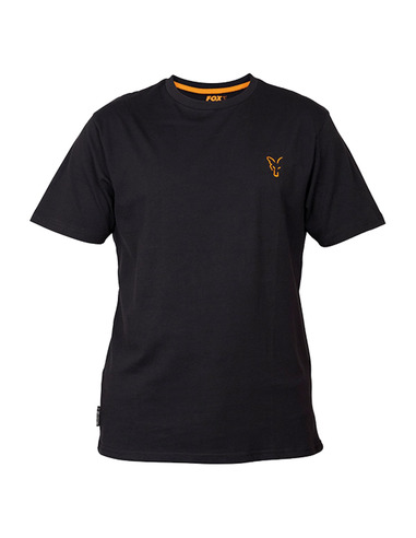 Fox Collection T-Shirt Black/Orange L