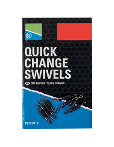 Preston Quick Change Swivel Small 8pcs