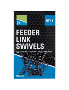 Preston Double Feeder Link Swivels 8pcs