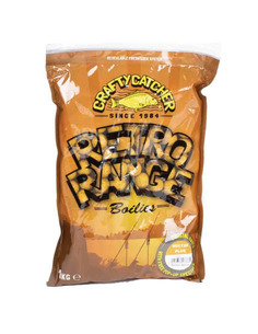 Crafty Catcher Boilies Retro Range Peanut Pro 15mm 1kg