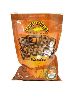 Crafty Catcher Boilies Retro Range Peanut Pro 20mm 1kg