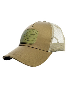 RidgeMonkey APEarel Dropback Pastel Trucker Cap Green