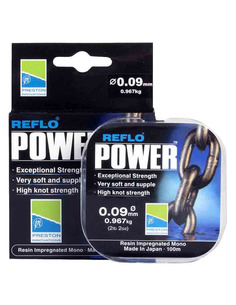 Preston Reflo Power 0,17mm / 3.088kg 100m