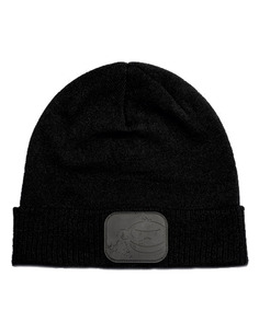 RidgeMonkey APEarel Dropback Bobble Hat Black/Green