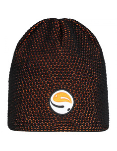 Guru Skull Cap Black Orange Beanie