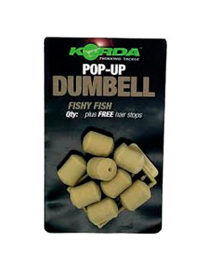 KORDA Dumbell Fishy Fish pop up 12Mm