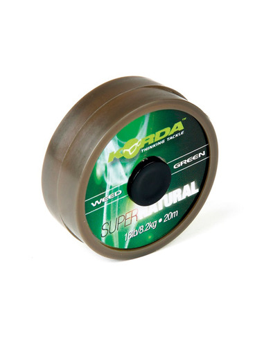 KORDA Super Natural Weed Green 18Lb 20Metros