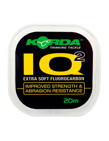 KORDA IQ2 Fluorocarbon Soft 20Lb/0.47 20 Metros