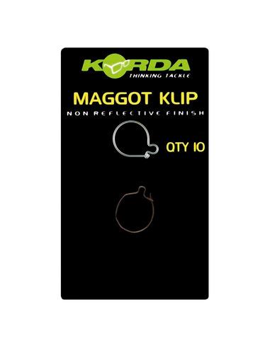 KORDA Maggot Klip Medium (10 unidades)