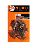 Guru Micro Lead Clip inc Swivels & tail Rubbers
