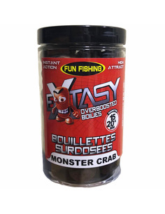 Fun Fishing Extasy Boilies Surdosees Monster Crab 15 & 20mm 250g ( NEW 2020)