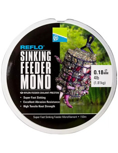 Preston Reflo Sinking Feeder Mono 0,18mm 4lb 1,81kg 150m