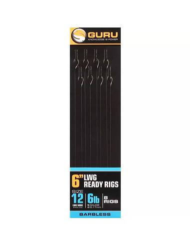 Guru LWGS Ready Rigs Size 12 (0,17mm 15cm)