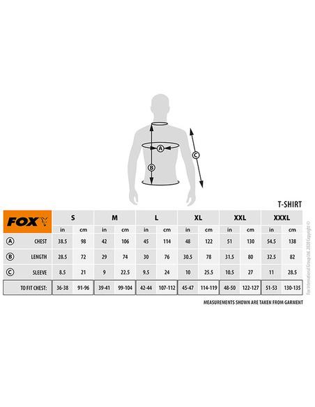 Fox Khaki T shirt Medium