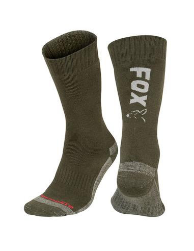 Fox Green / Silver Thermo Sock Sz6-9...