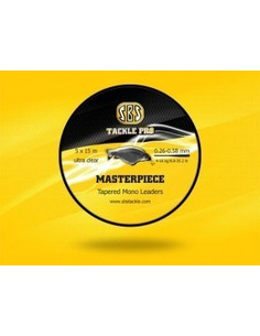 SBS Masterpiece Tapered Mono Leaders 5x (0.26- 0.58mm)