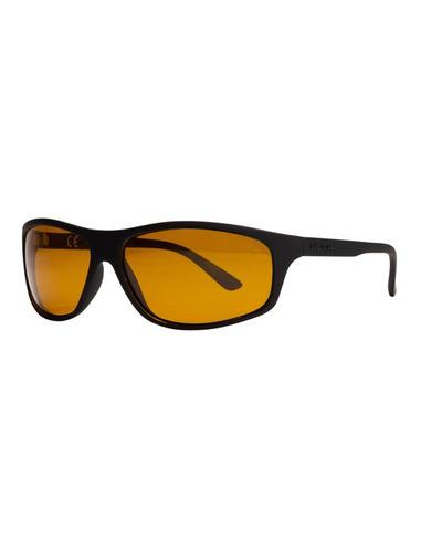 Nash Black Wraps With Yellow Lenses