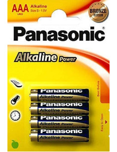 Panasonic Alkaline Power AAA 1,5V